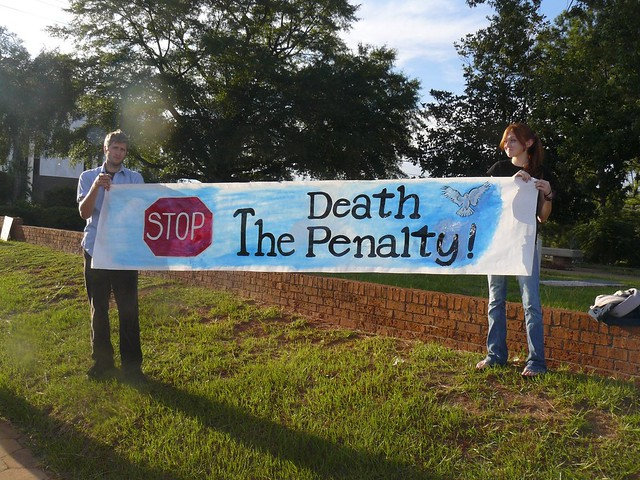 Stop the Death Penalty Banner