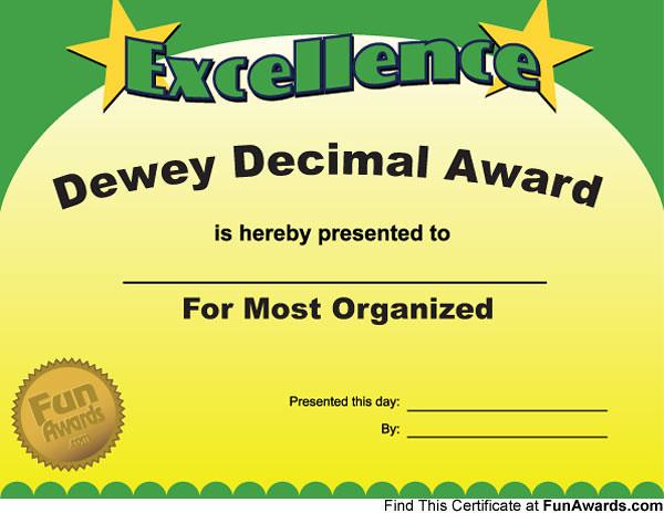 Funny Award Certificate Template - Apigram.Com