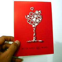 Wine Tasting Card Design