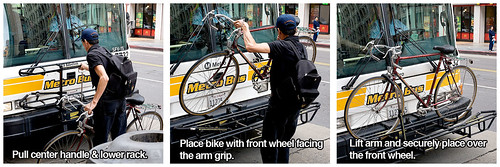 How to load bike on bus | by Gary Rides Bikes