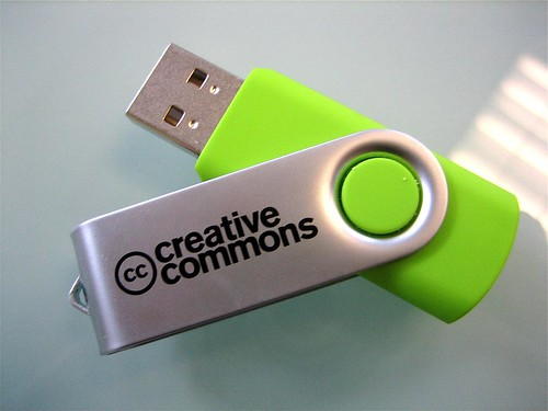 Mega Green Flashdrive | by creativecommoners