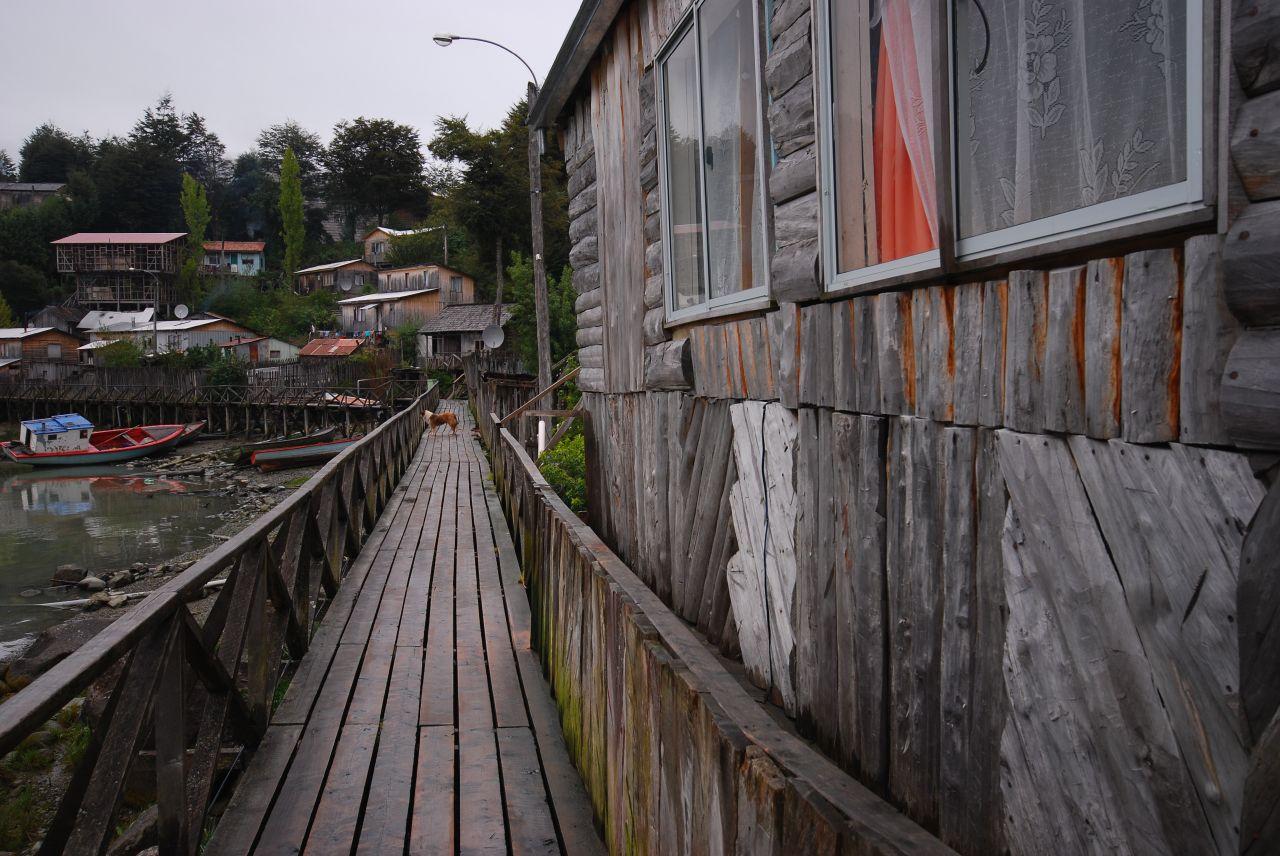 Street in Caleta Tortel