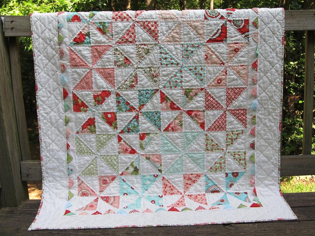 Bliss Pinwheel Baby quilt | Pattern by Jodi at Moda Bake Sho… | Flickr : baby pinwheel quilt - Adamdwight.com