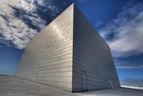 Oslo Opera House, Roof...