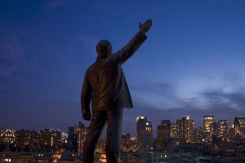 Lenin in Manhattan | by Antonio Bonanno