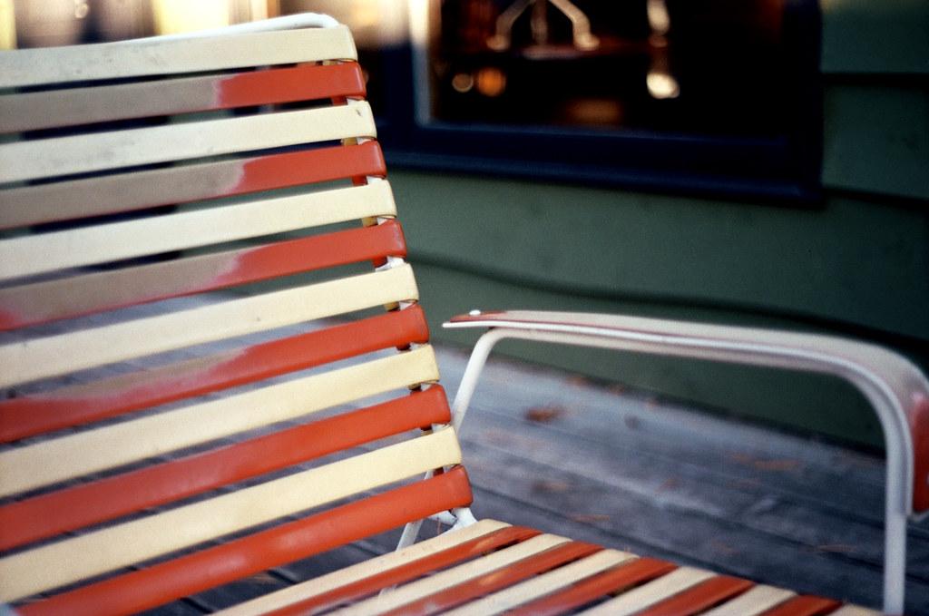 Orange Lawn Chair   By Gentlepurespace Orange Lawn Chair   By  Gentlepurespace