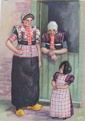 dutch old traditional clothes dutchcoloursblogspotcom