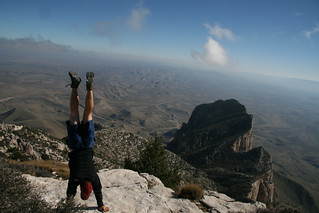 Guadalupe Peak, Guadalupe Mountains National Park, Texas | by @HandstandSam