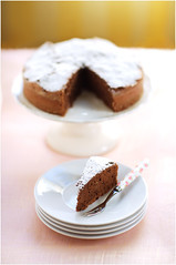 A Chocolate Cake with Character: Buckwheat, Hazelnut and Applesauce | by La tartine gourmande
