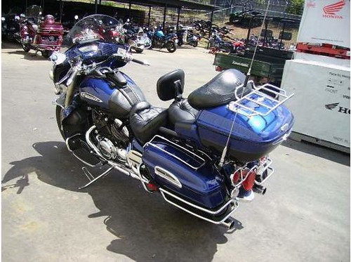 2007 - Blue/Raven Yamaha Royal Star Venture by sandbass | Flickr