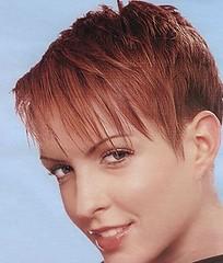 Short hair w/ Fringe | Found at: www.short-hairstyles.com ...