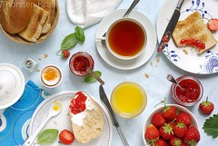 Breakfast with strawberry jams | by Thorsten (TK)