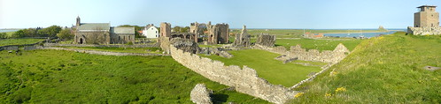 Lindisfarne Priory Panorama | by AlastairCutting