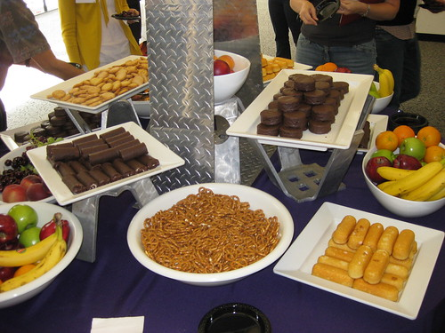 snack table at OCU2008 | by thomas pix