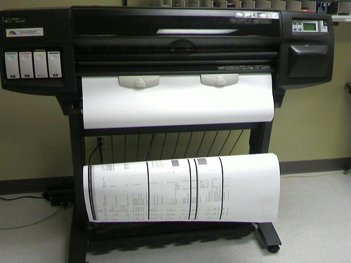 Epic Fail is needing a plotter to diagram your project man… | Flickr