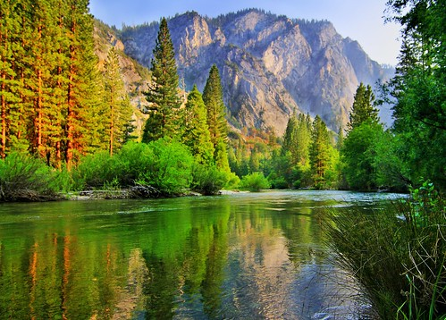 The kings river kings canyon national park california for Log cabin sequoia national park