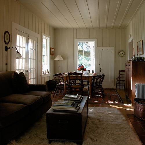 Ranch House Living Room Rustic