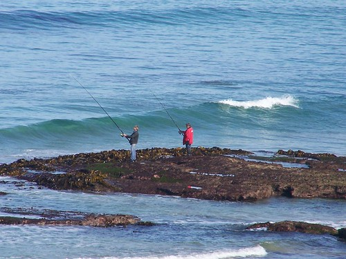 Barwon heads beach fishing from the reef marie for Matthews fishing report
