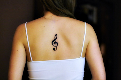 Treble Clef tattoo | by LauraReaux