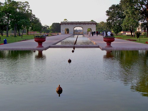The Shalimar Gardens, Lahore, Pakistan - April 2008