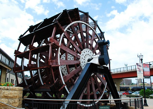 Paddlewheel From The William M. Black steamboat - 424 | by Ron Ginther