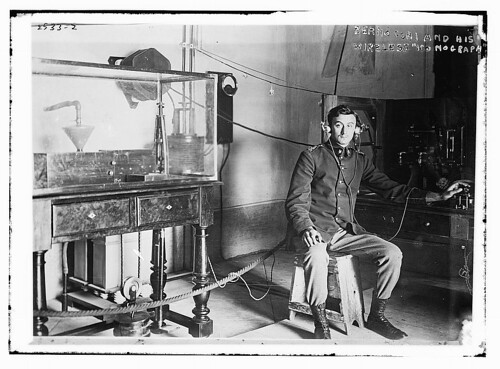 "Bermocchi & his wireless ""iconograph""  (LOC) 