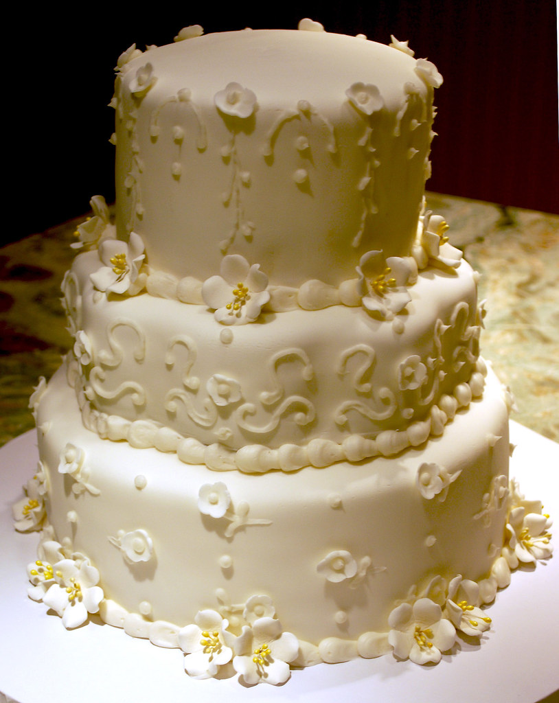 50th Wedding Anniversary Cake | Cake will have the topper fr… | Flickr