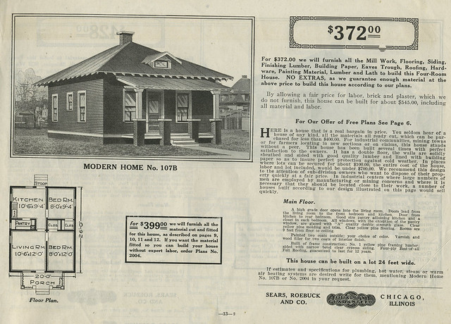 Sears Kit Houses::1916 Catalog::House Plans | Flickr
