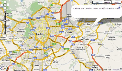 how to find the exact address of an ip address