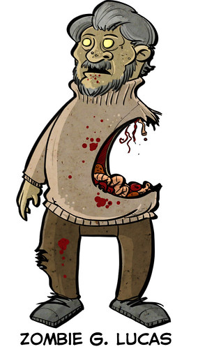 Zombie George Lucas | by ExtraLife