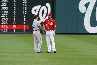 Dobbs & Werth chatting | by steve_trapani