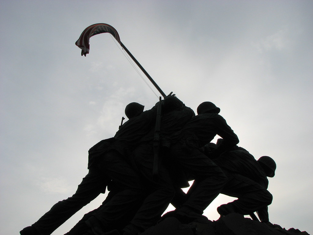 ... Iwo Jima Silhouette | by Tanner S