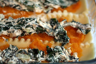 butternut squash & swiss chard lasagna | by rachel is coconut&lime