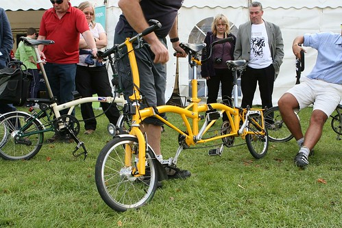 Crazy, awesome tandem Brompton | by marcus_jb1973