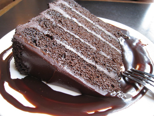 Chocolate Cake With Honey Frosting