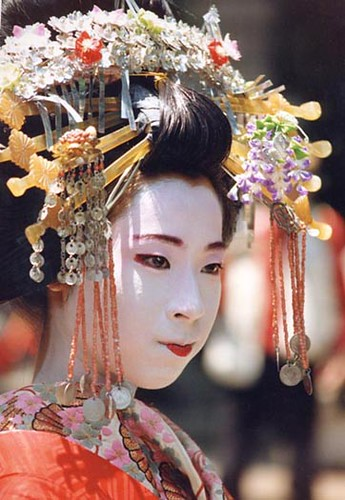Oiran S Hair A Close Up Of An Oiran S Hair From The