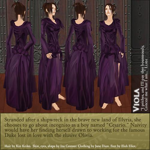 violas love in twelfth night