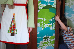 holiday aprons :: new | by SouleMama