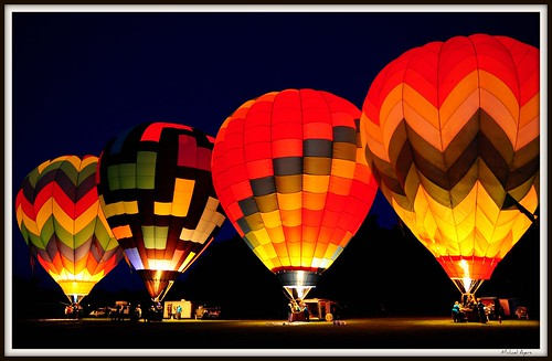 Hot Air Balloons in the Morning - Dawn Patrol | by michael'sphotography