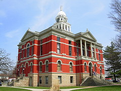 Court House and museum Charlotte Michigan | by baklein62