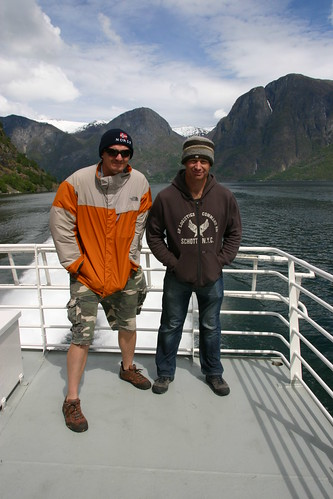 Hubbers and Bundy on fjord in Norway | by Hubbers