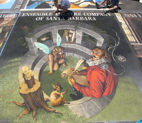 3D Street Painting - A Midsummer Night's Dream | by Tracy Lee Stum