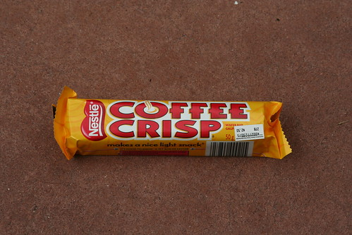 Our dessert from Canada in Epcot: a Nestle Coffee Crisp bar | by JeffChristiansen