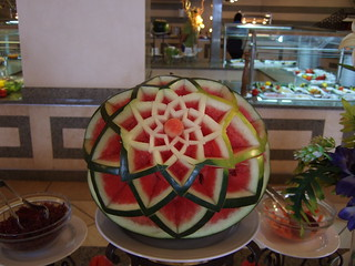 Nicely carved melon | by kosi2801