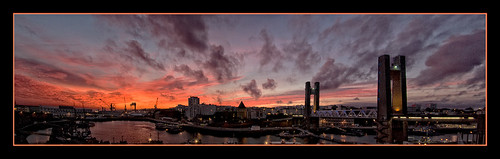 Sunset on Brest Harbor (1) | by Brestitude