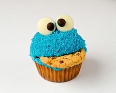 Cookie Monster Cupcake 1 | by Nick^D