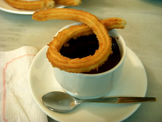 Chocolate con churros | by jon|k