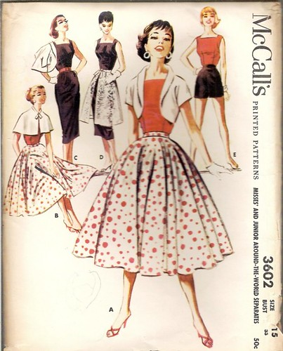 Vintage Sewing Pattern: 1950s dress | by vintagemode