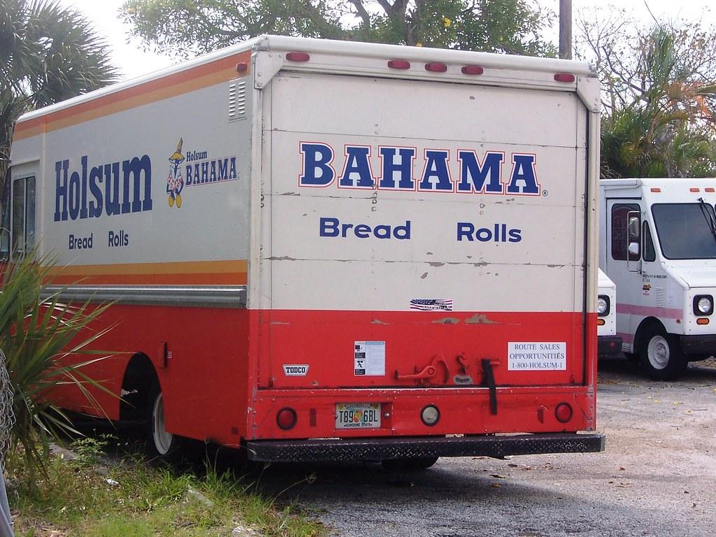bahama bread holsum bread truck | bahama holsum bread truck … | flickr