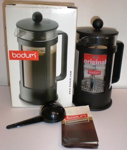 Original French Press Coffee Maker : NEW! Bodum Original French Press Coffee Maker - USD 18 Flickr